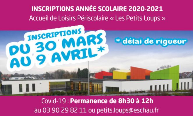 A-LA-UNE-Inscriptions-rentrée-2020psd