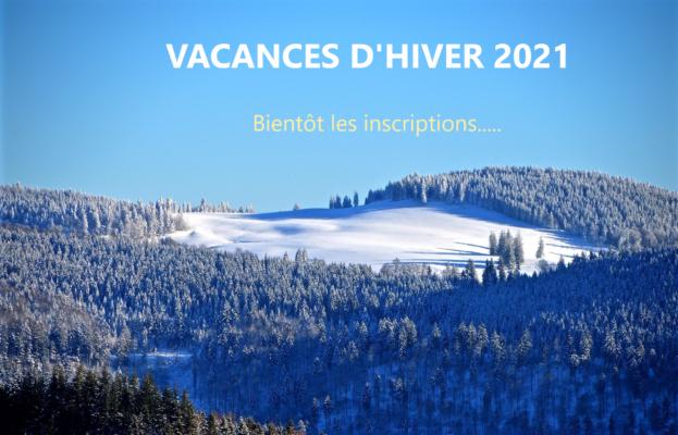 vacances hiver 2021